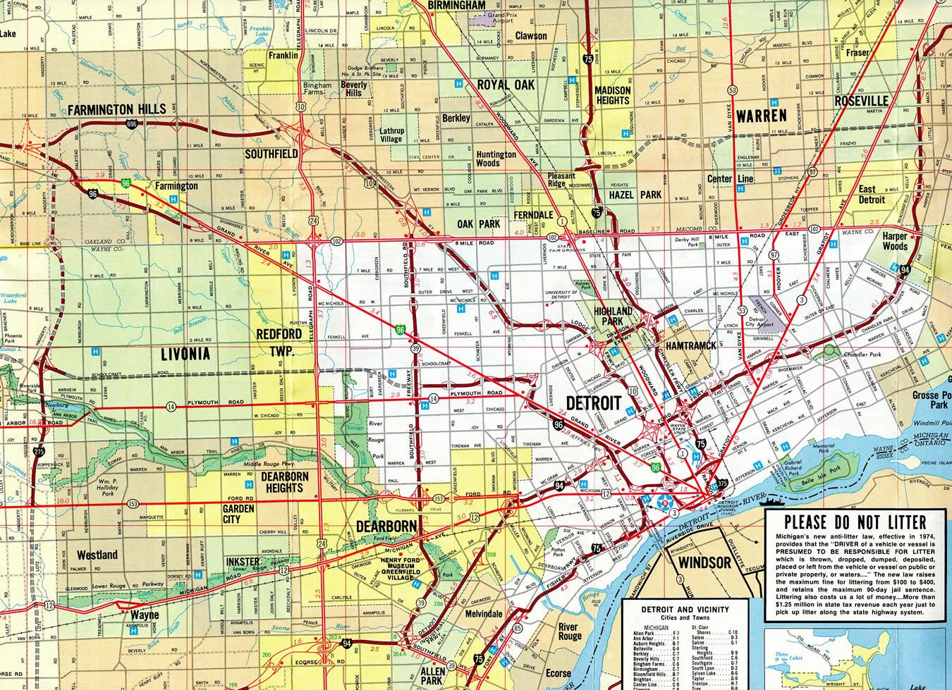 Interstate 696 Michigan - Interstate-Guide.com