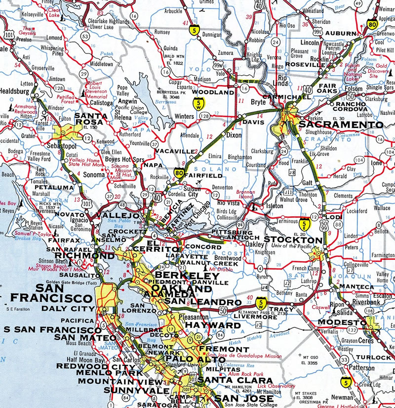 Interstate 505 California - Interstate-Guide com