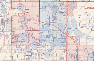 Arden Hills, Shoreview, MN - 1962