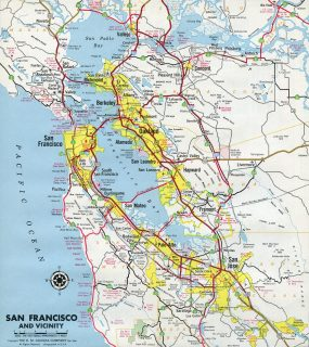 San Francisco Bay Area - 1966