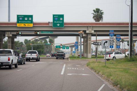 SS 206 west at IH 2/US 83 - Harlingen, TX