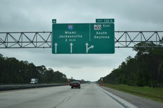 I-4 east at I-95 - Daytona Beach, FL