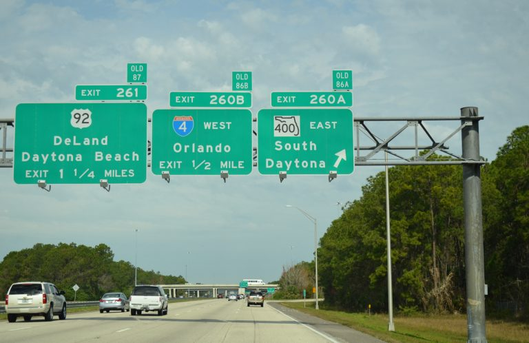 I-95 north at I-4/SR 400 - South Daytona, FL
