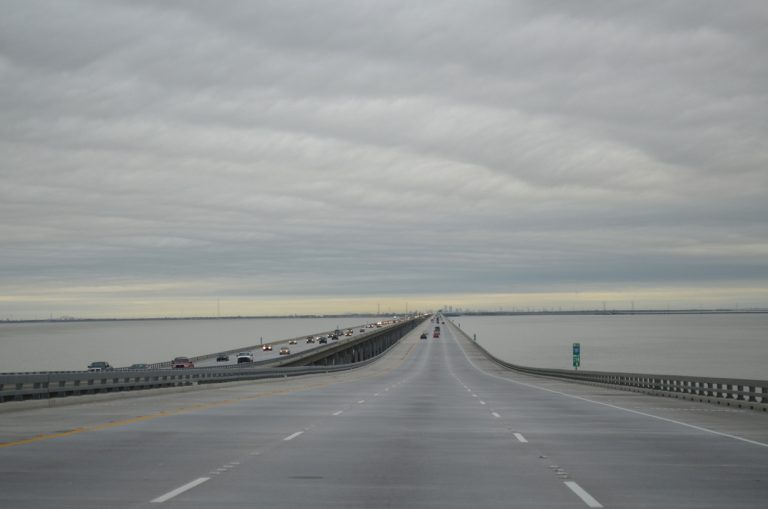 I-10 crossing Lake Pontchartrain