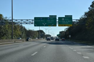 I-95 south at I-10 - Jacksonville, FL