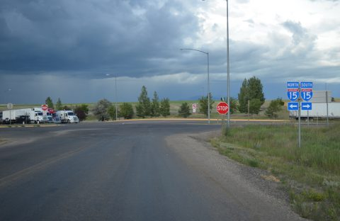 3rd Ave east at I-15 - Sweetgrass, MT