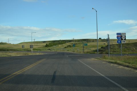 3rd Ave west at I-15 - Sweetgrass, MT