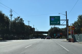 MLK Blvd south at I-16 - Savannah, GA