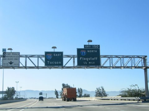 I-10 east at I-17/US 60 - 2005