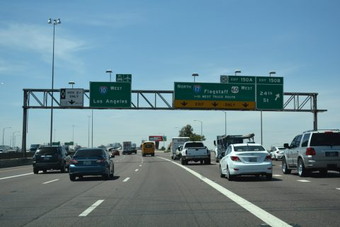 I-10/US 60 west at I-17 - Phoenix, AZ