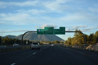 I-17/SR 89A north at I-40 - Flagstaff, AZ