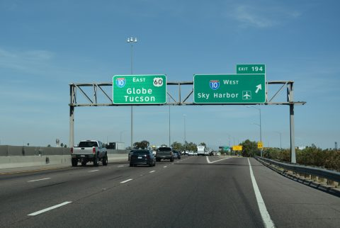 I-17/US 60 south at I-10 - Phoenix, AZ