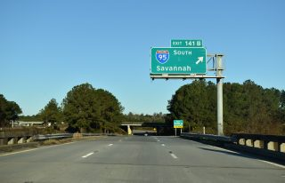 Business Spur I-20 west at I-20/95 - Florence, SC