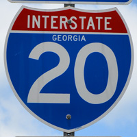 Interstate 20 Georgia