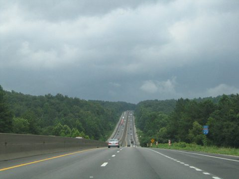 I-20 East near Cook Springs, AL