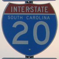 Interstate 20 South Carolina