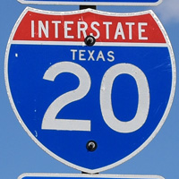 Interstate 20 Texas