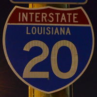 Interstate 20 Louisiana
