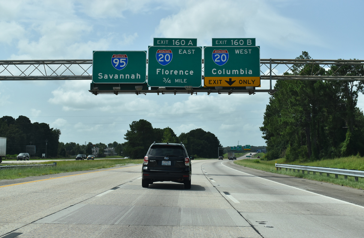 Interstate 20 - Interstate-Guide.com on interstate 65 map of united states, thruway exit maps, interstate highway map of all, interstate 4 florida map, interstate 81 map, interstate highways in alabama,