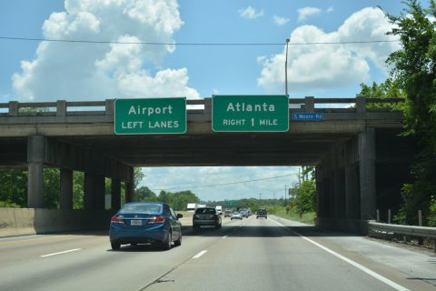 I-24 east at I-75 - Chattanooga, TN