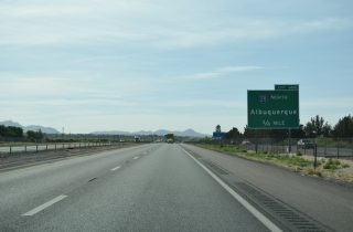 I-10 east at I-25 - Las Cruces, New Mexico