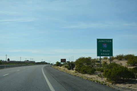 I-25 south - Las Cruces, New Mexico