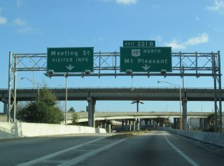 I-26 east at US 17 - 2004