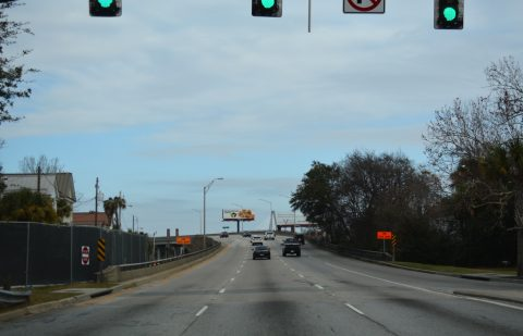US 17 north at I-26 - Charleston, SC