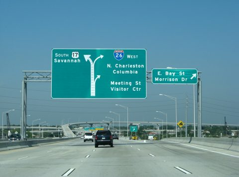 US 17/Ravenel Br south at I-26 - Charleston, SC