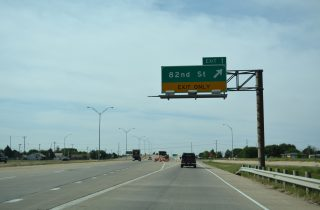 IH 27/US 87 south at 82nd St - Lubbock, TX