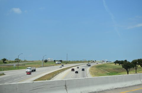 IH 20 west at IH 30 - Fort Worth, TX
