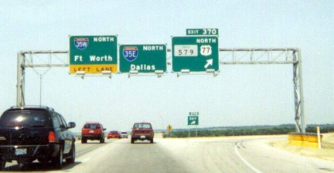 IH 35 north at IH 35E/W - 2000