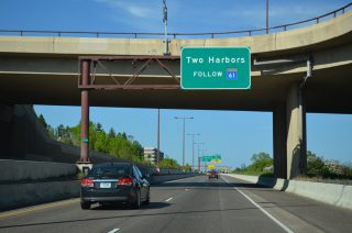 I-35 north at MN 61 - Duluth, MN