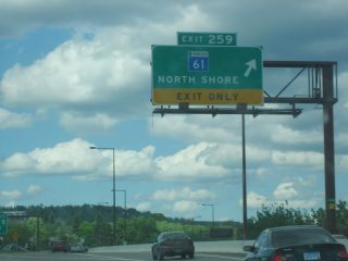 I-35 north at MN 61 - 2005