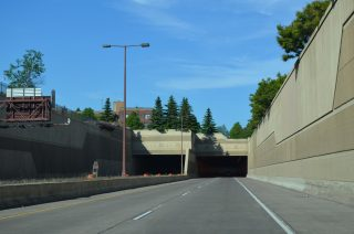 I-35 north Leif Erikson Tunnel - Duluth, MN