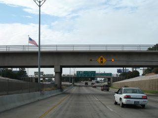 IH 35 south at Santa Ursula Ave - Laredo, TX