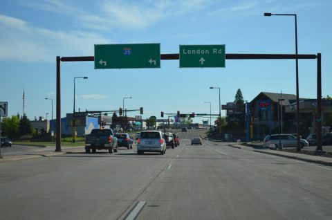 MN 61 south at I-35 - Duluth, MN