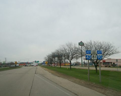 WIS 81 east at I-39/43/90 - 2007