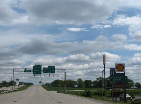 WIS 81 east at I-39/43/90 - 2010