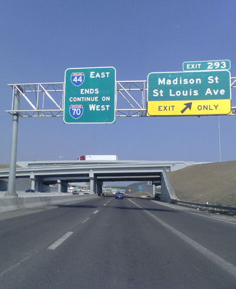 I-44 west end - St. Louis, MO