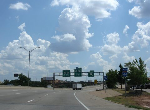 IH 44 west at US 277 Business - Wichita Falls, TX