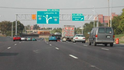 I-55 north at I-44 - 2002