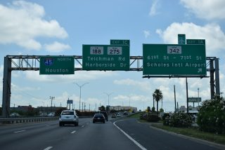 IH 45 north at Spur 342 - Galveston, TX