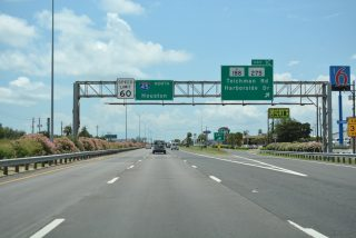 IH 45 north at SH 275 - Galveston, TX
