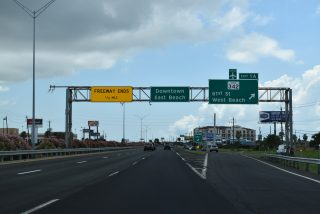 IH 45 south at Spur 342 - Galveston, TX