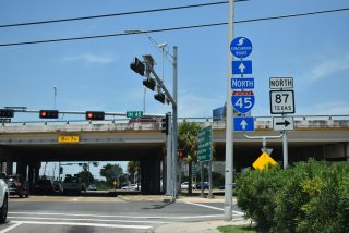 Spur 342 north at IH 45/SH 87 - Galveston, TX