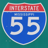 Interstate 55 Mississippi
