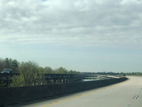 I-55 Viaduct at Ruddock, LA