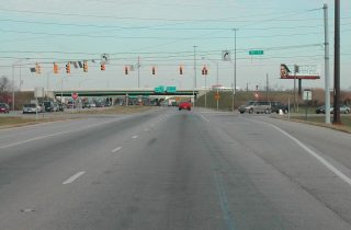 Binford Blvd north at 75th St/I-69 - Indianapolis, IN