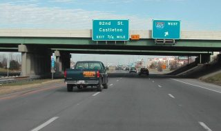Binford Blvd north at I-69/465 - Indianapolis, IN